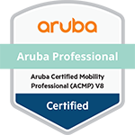 Aruba Certified Mobility Professional (ACMP) V8